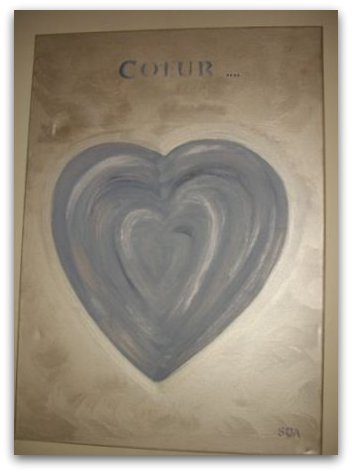 Coeur argenté