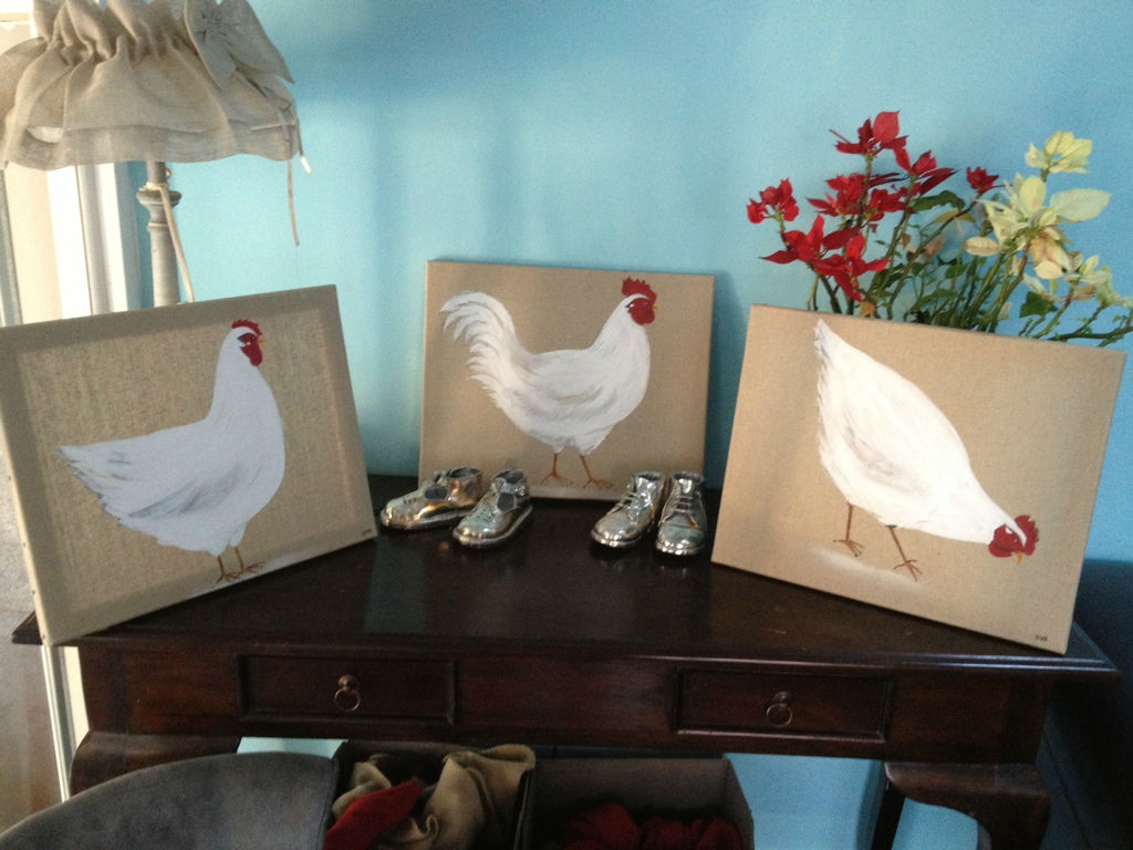 3 poules